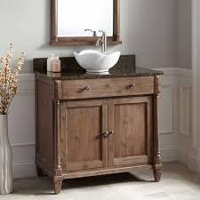 rustic bathroom vanity with vessel sink. 36\ rustic bathroom vanity with vessel sink