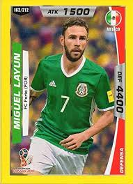 Layún began his career in 2006 with veracruz, and in 2009 signed for italian club atalanta, becoming the first mexican player to play in the serie a. World Cup Russia 2018 Peru Trading Card Miguel Layun Football Club Porto 1893 At Amazon S Entertainment Collectibles Store