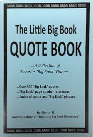 Book 66 Aa The Little Big Book Quote Book