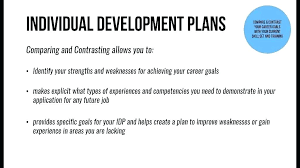 What Are Your Personal And Career Goals Personal Development Plans Example Skills Plan Template For