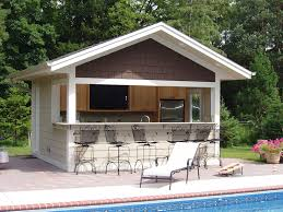 pool house ideas. Pool House Bar Ideas Build A Into The Side Of Your Where Family Can