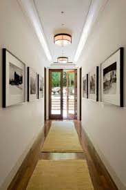 long narrow hallways that will impress