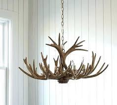 faux antler chandelier white easy home design decoration minimalist faux antler chandelier in pottery barn faux