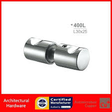 shower door pull handles polished chrome glass