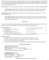 Early Childhood Education Resume Beauteous Teacher Resume Objective Sample Objective Teacher Resume Early