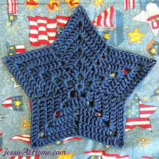 Crochet Star Pattern Free Enchanting Ravelry Star Trivet Or Centerpiece Pattern By Jessie Rayot