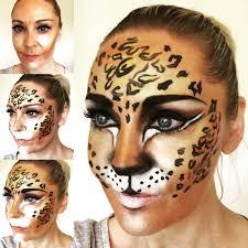 dolly cat facepaint on twitter growl beware of the big cat leopard face paint wildlife jungle brows safari