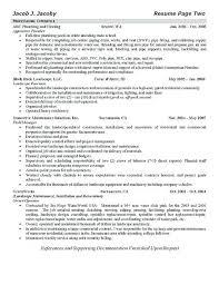 Plumber Resume Custom Plumber Helper Resume Download Our Sample Of Plumber Resume Example