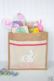 Patterned Iron On Vinyl Mesmerizing DIY Personalized Easter Bag With Iron On Vinyl Over The Big Moon