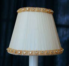mini lamp shades for chandelier cream fancy gold crystal trim chandelier clip on mini shades