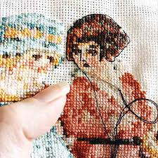 Easy Cross Stitch Patterns Magnificent That's What She Said Cross Stitch Pattern Peacock Fig