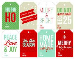 Free Printable Favor Tags Free Holiday Printable Gift Tags