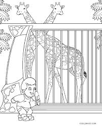Here is a collection of 19 amazing free printable zoo coloring pages. Free Printable Zoo Coloring Pages For Kids