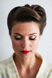 go for some 1950s glam with this hairstyle jasmine ann the gluten free scallywag pemberton can you help me do this