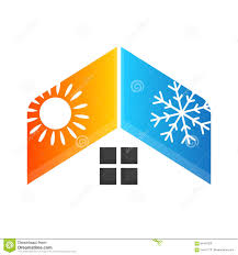 heating cooling icon. royalty-free vector. download heating and cooling icon u