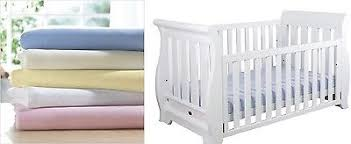 jersey cotton sheets. Fine Sheets 2 X Cot Fitted Sheets 100 Cotton Soft Jersey 60 120 Cm Intended E