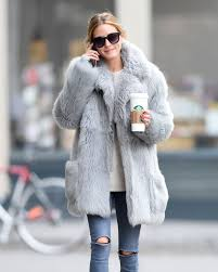 olivia palermo in a fur coat out for coffee in bew york 01 15