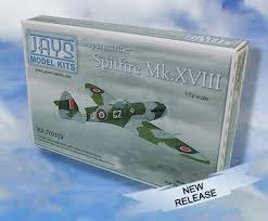 spitfire model kit. jays model kits supermarine spitfire mk xviii kit 1:72