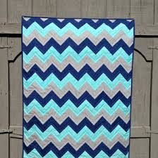 20+ Easy Chevron Quilt Patterns | FaveQuilts.com & Electric Zig Zag Quilt Adamdwight.com