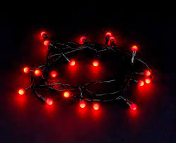 Christmas Berry Lights Uk 80 Led Berry String Lights Red