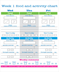 Weight Loss Menu Planner Template 10 Diet Plan Templates Free Sample Example Format