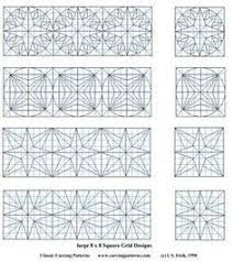 Chip Carving Patterns Cool 48 Best CHİP CARVİNG PATTERNS Images On Pinterest Chip Carving