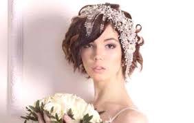 Svatební účesy Pro Krátké Vlasy Druhy Svatebních Vložek ženský