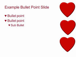 Heart Powerpoint Templates Red Hearts Powerpoint Template