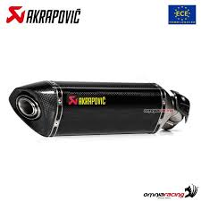 akrapovic exhaust euro4 approved carbon
