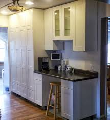 how to extend tall akurum cabinet base unit for floor to ceiling kitchen cabinet