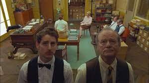 nieuwe Wes Anderson film ...