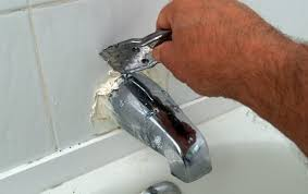 how to replace a tub spout step 1