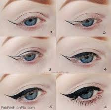 if you are still not sure how to try eyeliner look by yourself celebrity make up artist lisa eldridge will solve your problem fab fashion fix always finds