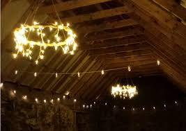scottish festival wedding festoon lighting ideas