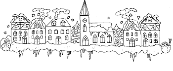 christmas house coloring pages. Beautiful Christmas To Christmas House Coloring Pages M