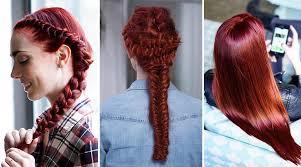 Red Hair Color Shades Light Dark Auburn To Burgundy Hair
