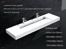 solid surface bathroom vanity solid surface integral double sink bathroom vanity top solid surface bathroom