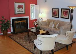 home staging color challenge living room after pictures of dark salmon walls