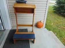 Prayer Stool  EBayAnglican Prayer Bench