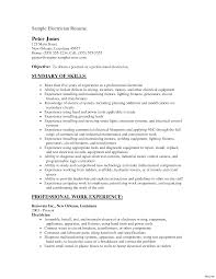 Electrician Resume Sample Clapprentice Electrician Construction Apprenticeship Resume 22