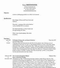 Office Position Resume General Office Clerk Resume Sample Livecareer