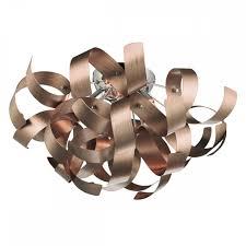 Copper Ribbon Light