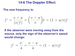 14 6 the doppler effect the new frequency is