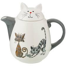 <b>Заварочный чайник Lefard</b> Озорные коты 188-198, 1000 мл в ...
