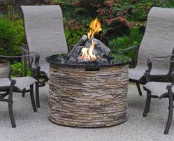 medium size of round fire pit table gas with 38 round slate fire pit table with