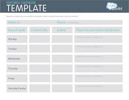 easy calendars a quick how to easy editorial calendars template social