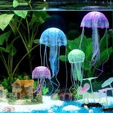 Fun Fish Tank Decorations Popular Artificial Jellyfish Aquarium Buy Cheap Artificial
