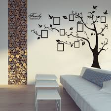 captivating tree decal with frames family tree wall decal with picture frames tree photo frames with