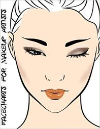 facecharts for makeup artists stacy blake anderson 9781544954776 amazon
