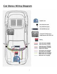 car speaker wiring diagram car wiring diagrams online wiring diagram car